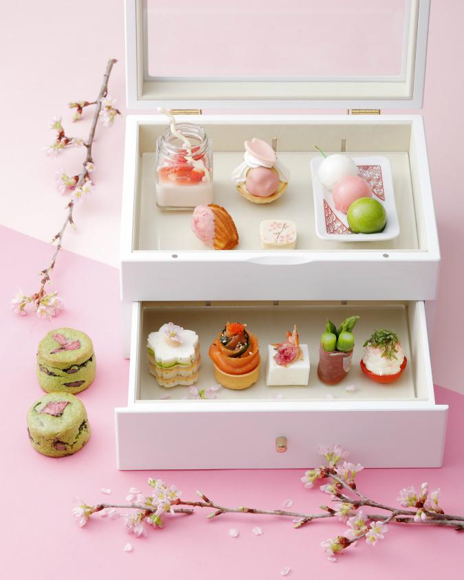 【セントレジスホテル大阪】SAKURAアフタヌーンティーや桜コースが登場!春が詰まったジュエリーボックス!