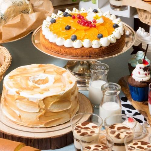 【Milk&Cheeseリーガロイヤルホテル東京牧場】チーズケーキ食べ比べにラクレットチーズも食べ放題!