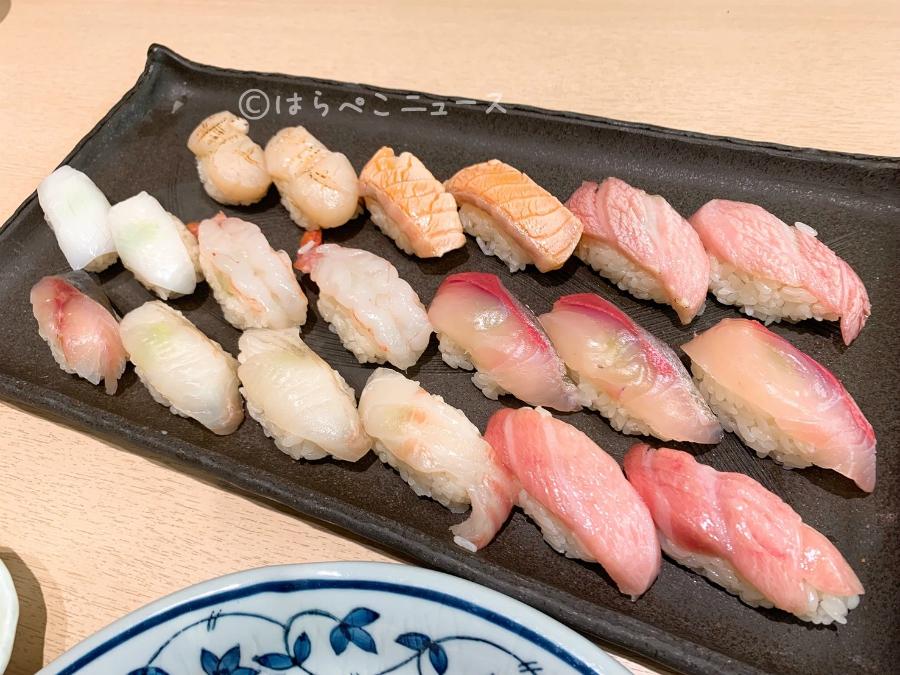 【実食レポ】寿司田 池袋パルコ店で寿司食べ放題2500円〜!とろ・ウニ・いくらをお得な値段で堪能!