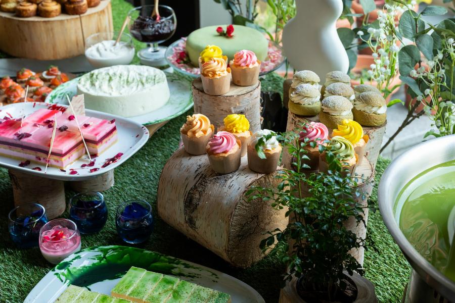 【グランドハイアット東京】ムーミン展開催を記念した「抹茶 フィーカ アフタヌーンティー ブッフェ」