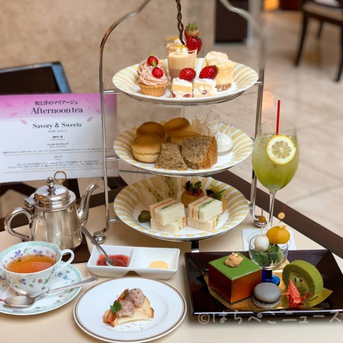 【潜入レポ】浦安ブライトンホテル東京ベイ「和と洋のアフタヌーンティー」で抹茶ティラミスやさくらモンブラン