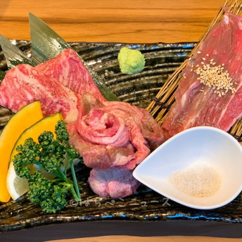 【実食レポ】「焼肉 一心たん助」池袋店オープン記念で極厚サーロインサービス!肉寿司食べ放題も体験!