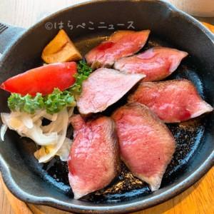 【THE KINTAN STEAK】厚切りの牛タンステーキランチに恵比寿サーロイン・ユッケ