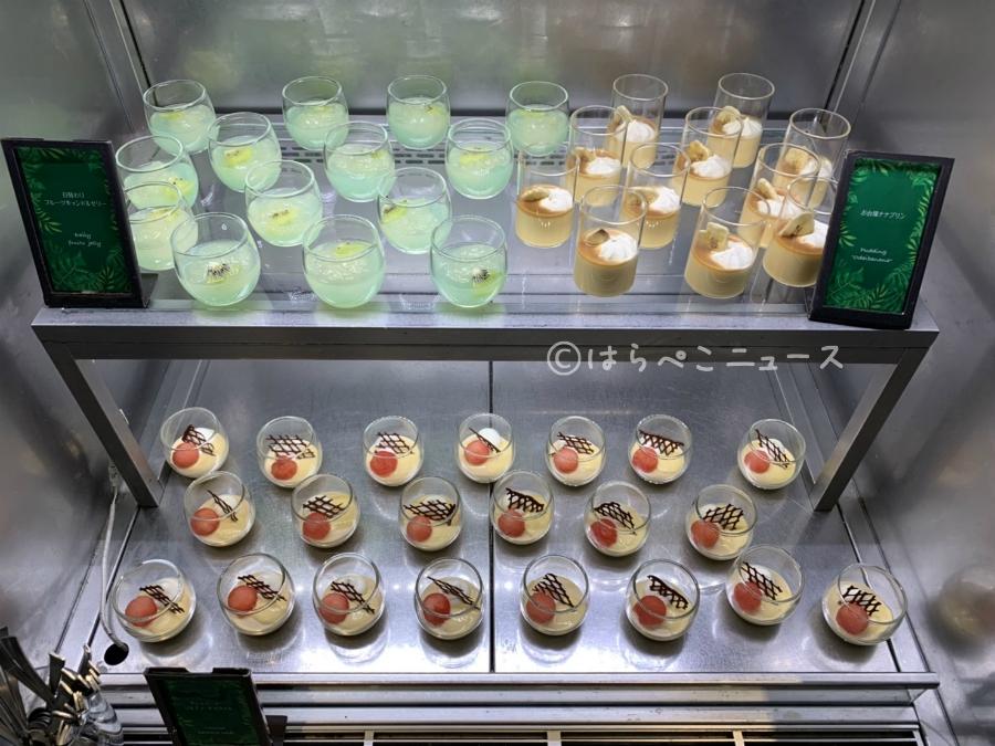 ヒルトン東京お台場 デザートビュッフェ フルーツシャワー メロン シースケープテラスダイニング