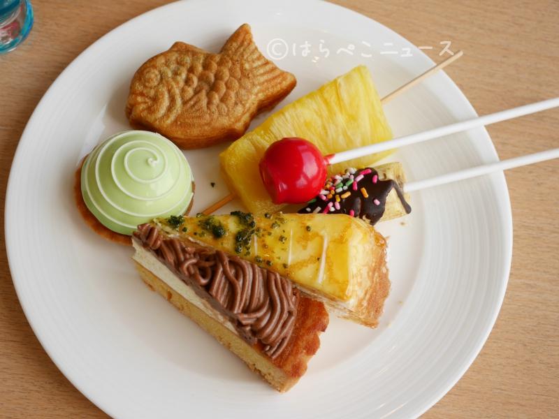 サマーデザートビュッフェ ヒルトン東京ベイ ラウンジオー 夏祭り ナツマツリ