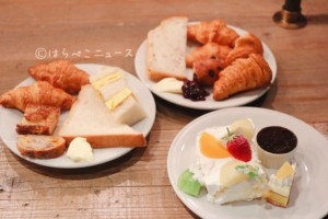 MORETHAN TAPAS LOUNGE モアザン ザノット東京新宿 ランチビュッフェ パン食べ放題