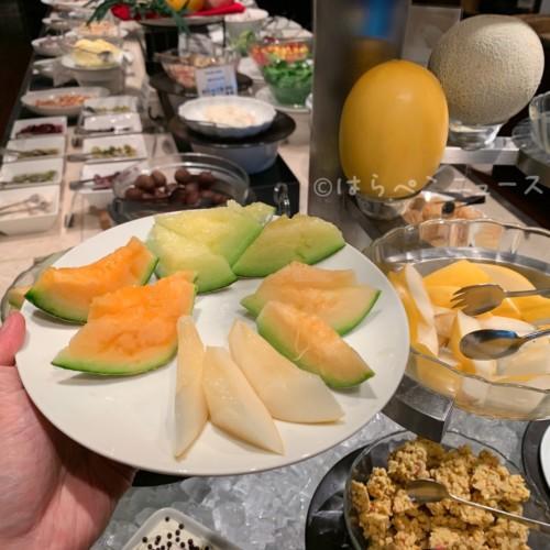 【実食レポ】トラヴェソグリルで4種のメロン食べ放題!2100円でバイキングランチ!