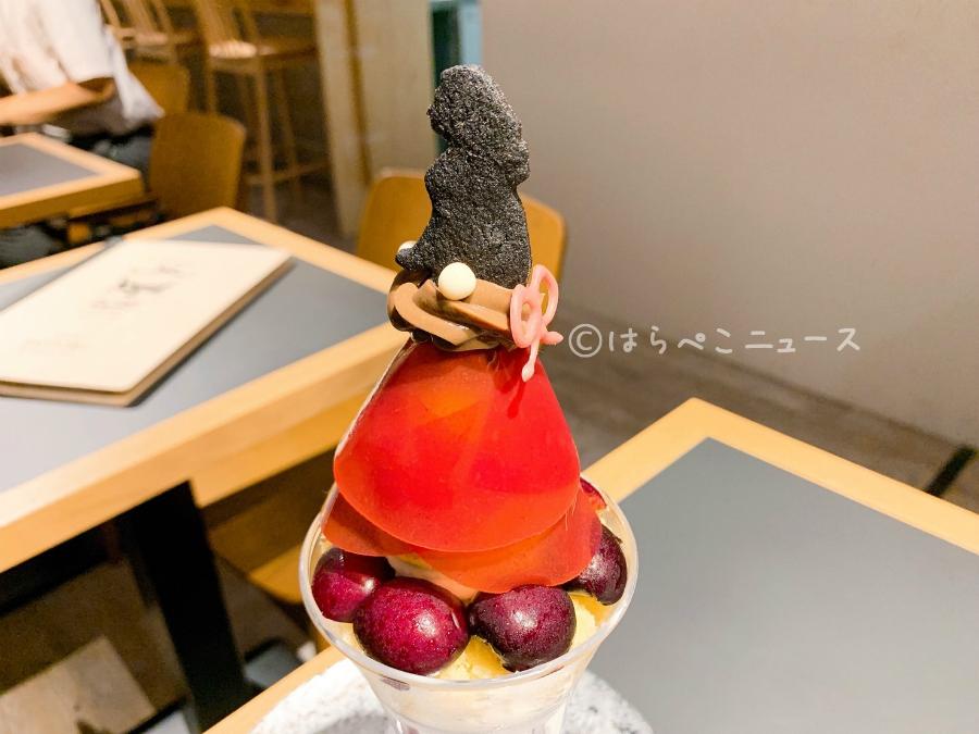 【実食レポ】池袋「夜パフェ専門店 モモブクロ」でシメパフェ!プリンセスチェリーに龍玉(ドラゴンボール)