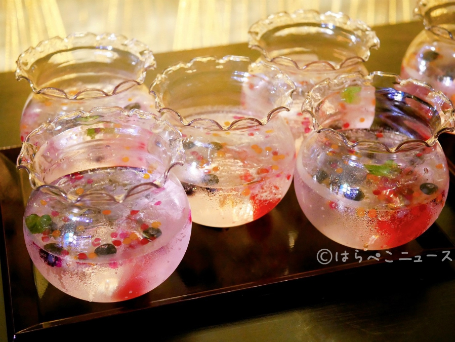 【体験レポ】「すみだ水族館」で金魚ソーダ!『東京金魚ワンダーランド2019』で金魚形ゼリーすくい!