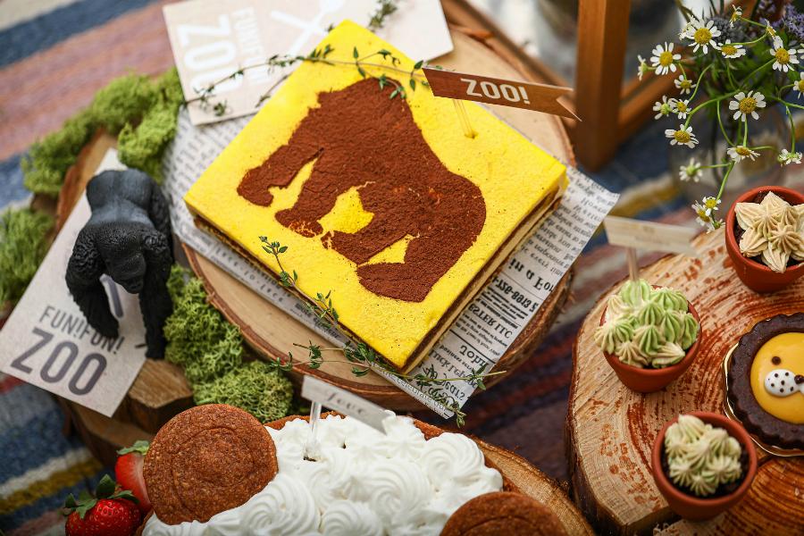 【星ヶ丘アートグレイスクラブ】アニマルスイーツビュッフェ『FUN! FUN! ZOO デザートブッフェ』