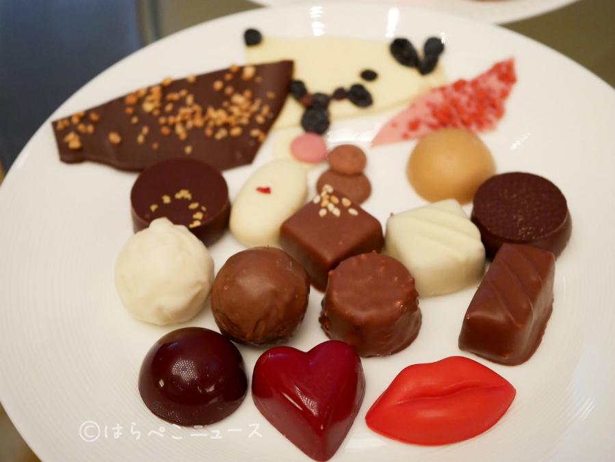 【試食レポ】チョコレートスイーツブッフェとアフタヌーンティー!ANAインターコンチネンタルホテル東京