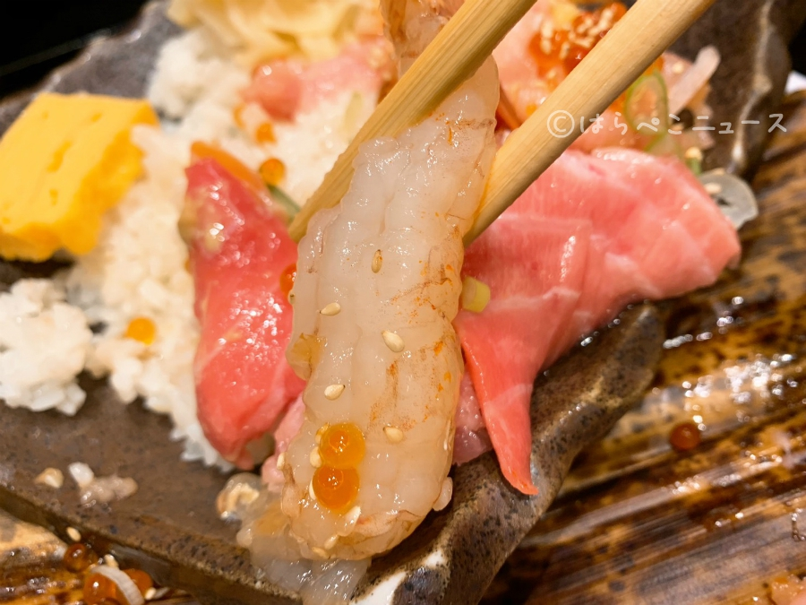 【実食レポ】「二代目 野口鮮魚店」で「豪快ブツ切り15種大漁丼」錦糸町パルコ・すみだフードホールへ!
