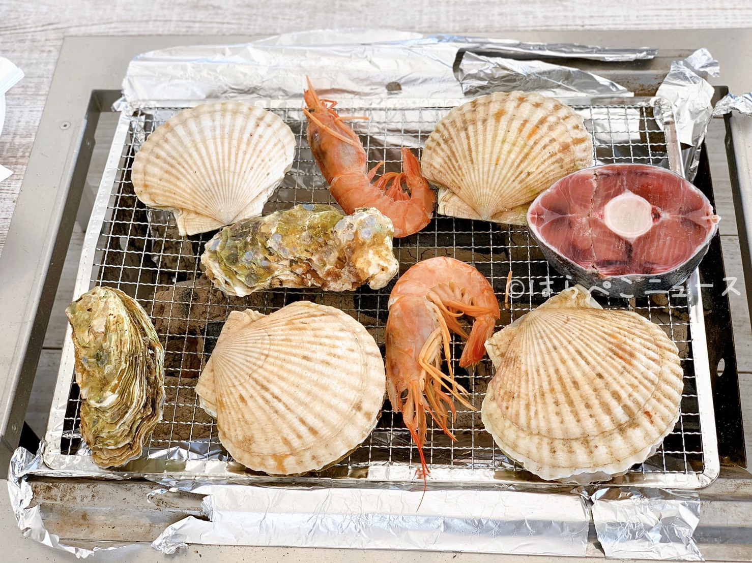 【実食レポ】豊洲でバーベキュー「THE BBQ BEACH in TOYOSU」でホタテにマグロテール食べ放題!