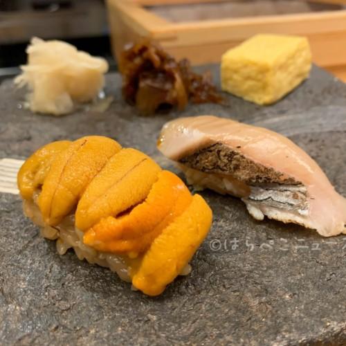 【実食レポ】「羽田市場 GINZA SEVEN(銀座セブン)」鮨食べ放題祭り!2種の雲丹に生牡蠣や大トロも!