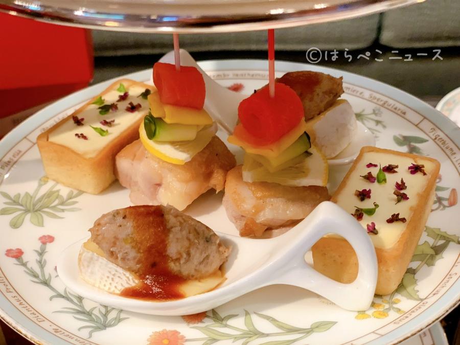 【試食レポ】「ホテル椿山荘東京」クリスマス限定のイブニングハイティー!ホワイトアフタヌーンティーも!