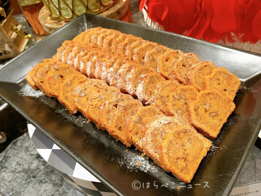 【実食レポ】ヒルトン東京でクリスマスデザートビュッフェ「アリスの気まぐれクリスマス・ティーパーティー」