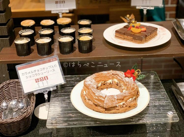 【実食レポ】サンシャインシティプリンスホテル「クリスマススイーツブッフェ」シュークリームのツリーが登場