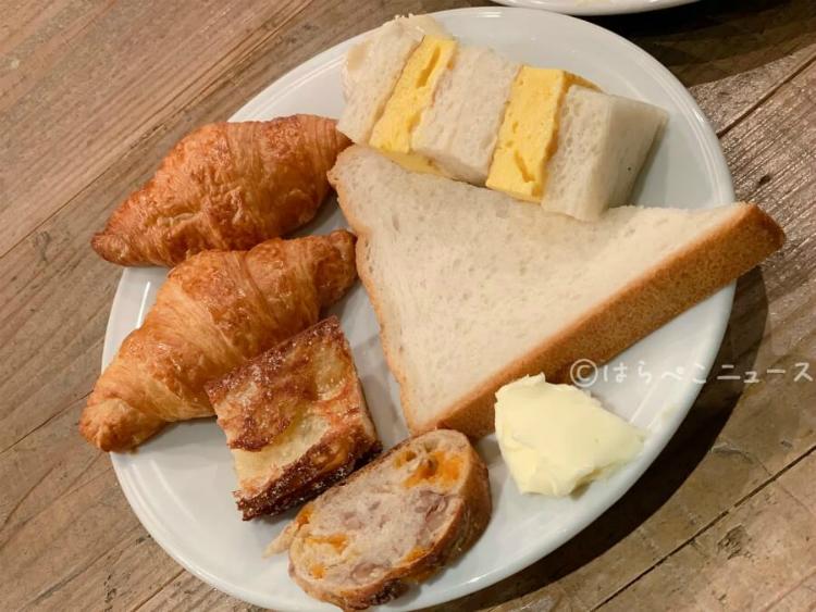 【実食レポ】「モアザンタパスラウンジ」ランチビュッフェでパン食べ放題!スイーツやパスタも!