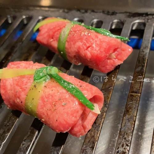 【実食レポ】「神楽坂の焼肉ここから 美風」包まれたネギタン塩&肉で野菜を巻く逆サンチュ!驚きの新提案!