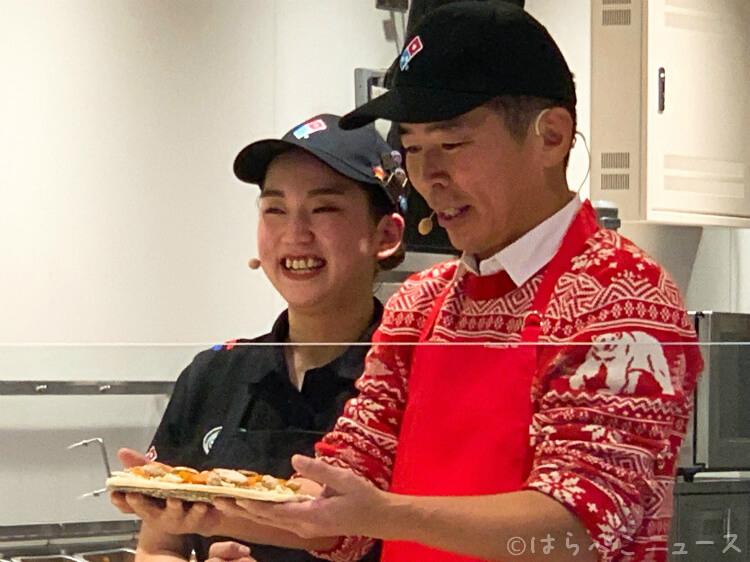 【実食レポ】ドミノ・ピザ「クワトロ・シェフズ プレミアムセレクション」勝俣州和さんピザ作り初挑戦!