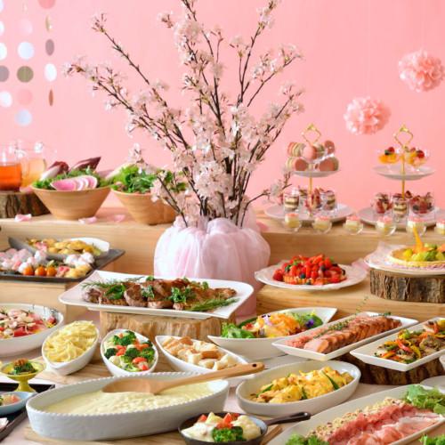 【ホテル椿山荘東京】『桜ブッフェ 2020』ランチは桜や春食材!ディナーは夜桜のライトアップに伝統料理!