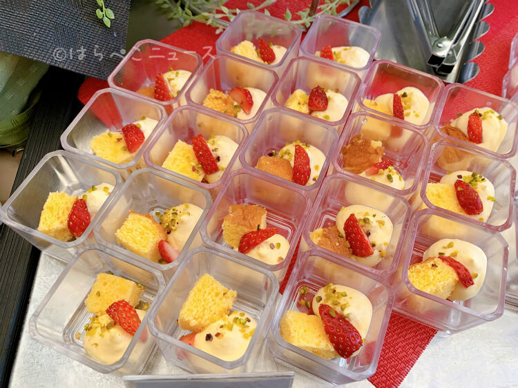 【実食レポ】「シンガポールシーフードリパブリック銀座」でいちごブッフェ!アジアンヌードルや海南鶏飯も!