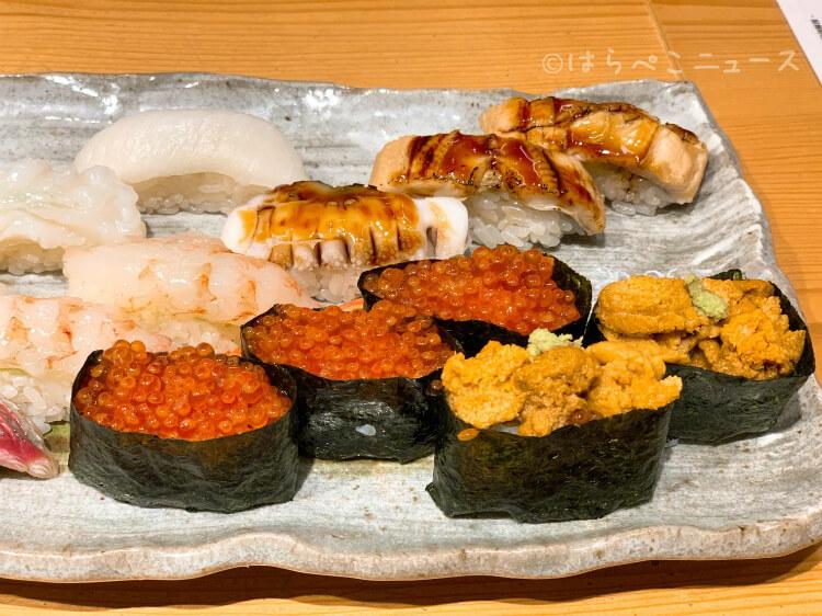 【実食レポ】「意気な寿し処阿部 虎ノ門ヒルズ店」の寿司食べ放題!ふぐ唐揚げや刺身など24品の一品料理も!