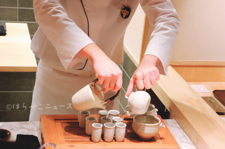 【実食レポ】『銀座 和郷』あん肝をパンの上に乗せた「あんパン」に本鮪の寿司!台湾烏龍茶のペアリングも!