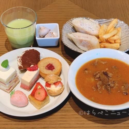 【実食レポ】『SESSiON(セッション)』アフタヌーンストロベリーブッフェ !特製ハヤシライスも食べ放題!