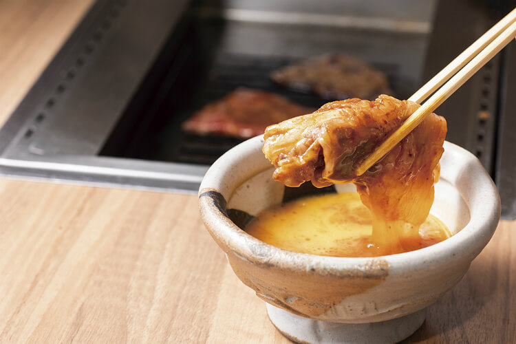 【焼肉放題うし越USHIGOE西葛西店】霜降り和牛の焼肉食べ放題!釜炊きあきたこまちに焼肉用キムチも!