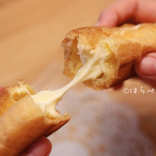 【実食レポ】ファミマ『ノビ~〝な〟エクレア チーズ』とろ〜りとした新食感のチーズクリーム!