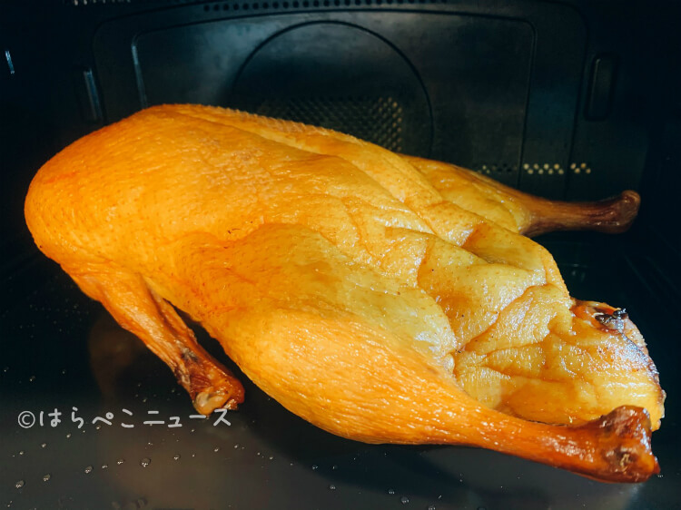 【実食レポ】おうちで『北京ダック食べ放題』最高級の北京種を丸ごと1羽お取り寄せ!包む皮と甜麺醤もセット