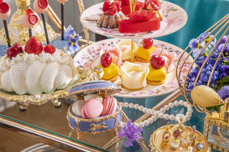 【マリーアントワネットスイーツまとめ】ヒルトン東京のデザートワゴン!ストリングスホテルではビュッフェ!