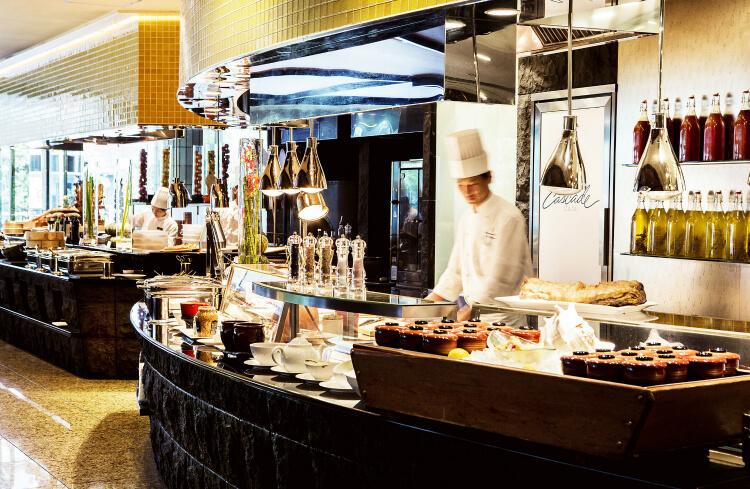 【ANAインターコンチネンタルホテル東京】新形式のビュッフェが『カスケイドカフェ』でスタート!