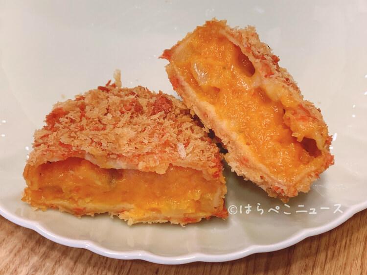【実食レポ】ローソン『とけコロ トマト&チーズ』とろ〜りホクホク!トマトとホワイトソースに2種のチーズ!