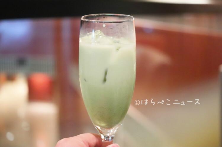 【実食レポ】ANA「シャンパンバー」でプライベートブッフェ!24種類の抹茶スイーツ食べ放題!パフェ作りも!