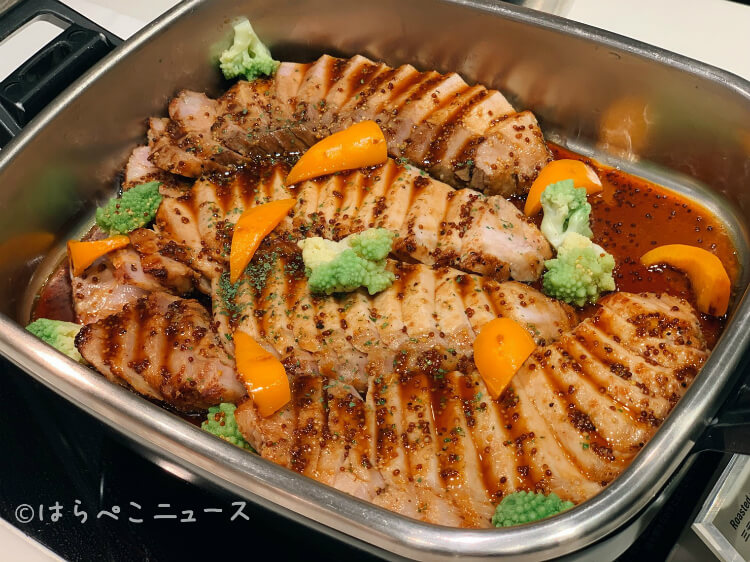 【実食レポ】ロイヤルパインズホテル浦和「ミケーラ」新ビュッフェ!ローストビーフや天ぷらにスイーツも!