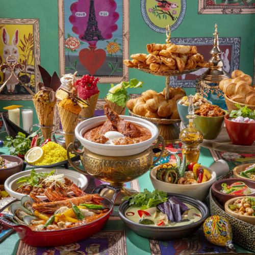 【華麗なるカレー・マジック】ヒルトン東京「マーブルラウンジ」新感覚カレーランチフェア!スパイスアイスも