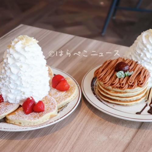 【実食レポ】『エッグスンシングスコーヒー グランエミオ所沢店』モンブランクリームパンケーキにマロンラテ!