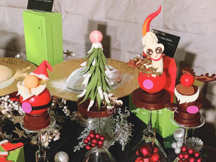 【実食レポ】グランメゾン東京で話題のモンブランがクリスマスケーキに!『インターコンチネンタル東京ベイ』
