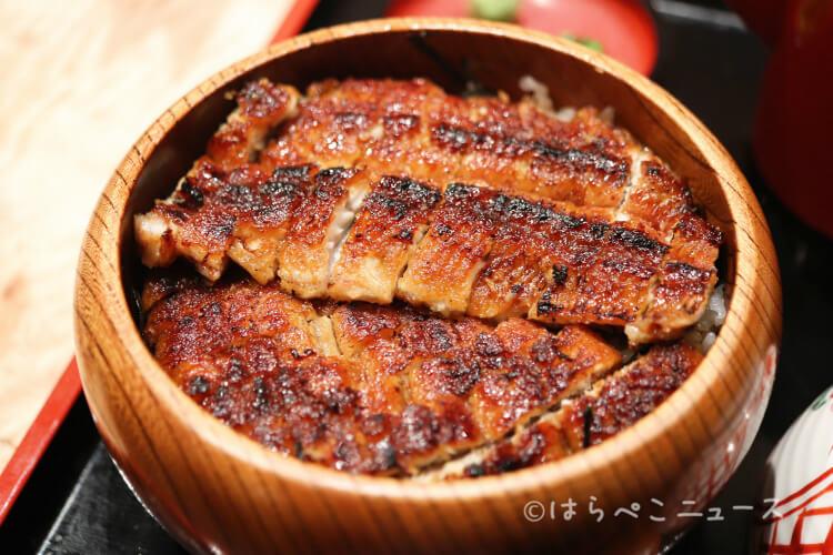 【実食レポ】日比谷OKUROJI『炭焼 うな富士 有楽町店』で「肝入り上うなぎ丼(数量限定)」と「上ひつまぶし」