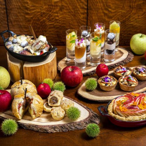 【りんごスイーツ2020】アップルアフタヌーンティーにリンゴビュッフェ!アップルパイ通販やりんご飴も!