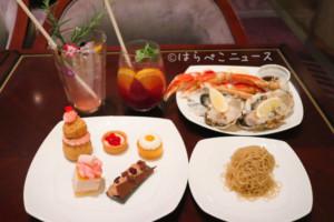 【実食レポ】「ヒルトン東京」新スイーツ&ディナービュッフェ『マリー・アントワネット 王妃のお夜食』