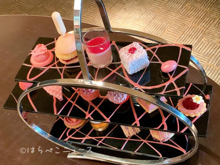 【実食レポ】『ルビーチョコレートアフタヌーンティー』ANAインターコンチネンタル「アトリウムラウンジ」