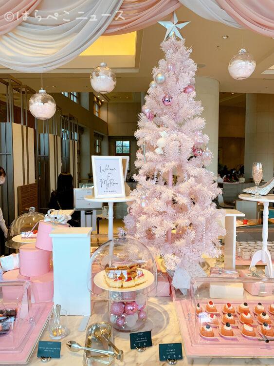 【実食レポ】『ヒルトン東京お台場』ストロベリーデザートビュッフェ!いちごとピンクづくしのクリスマス!