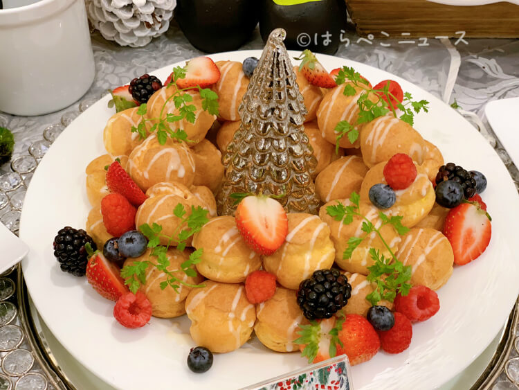 【実食レポ】ザストリングス表参道『眠れる森のスイーツガーデン』クリスマスバージョンのスイーツブッフェ