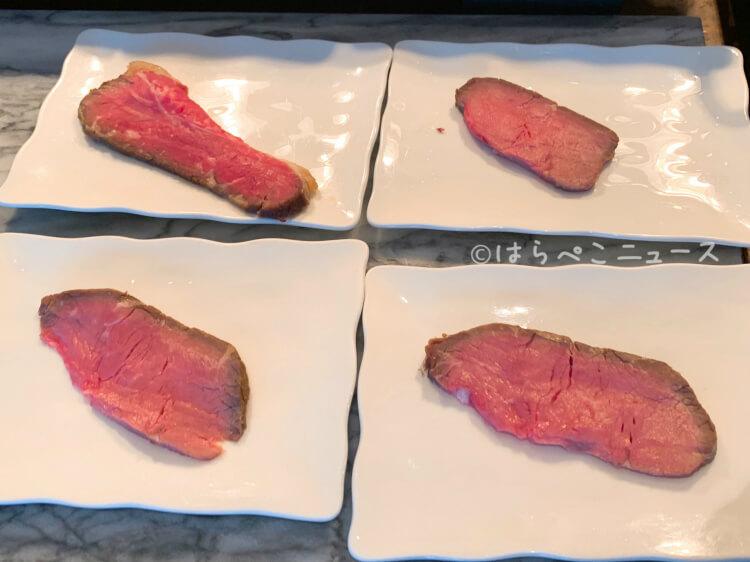【実食レポ】『XEX TOKYO』ストロベリーブッフェ!ローストビーフやピザ食べ放題にルビーチョコレートも!