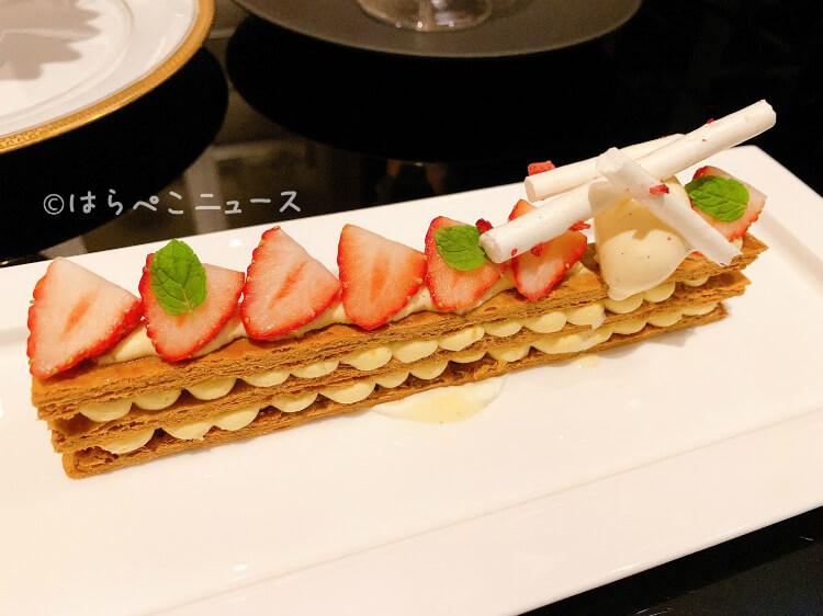 【実食レポ】『いちご飴のパフェ』『大人のストロベリーミルフィーユパフェ』ホテルインターコンチネンタル東京ベイ