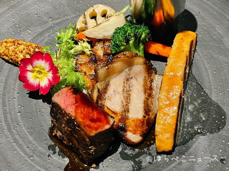【実食レポ】メトロポリタングリル『アリスのストロベリーカーニバル』グリル盛り合わせ&いちごブッフェ