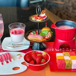 【実食レポ】ANA「MIXX バー&ラウンジ」で『ストロベリー&ルビーチョコレートフォンデュ』